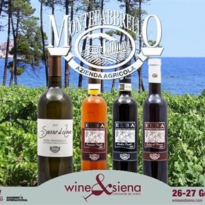 4 vini di MONTEFABBRELLO partecipano a Wine&Siena 2019 il 26-27 Gennaio